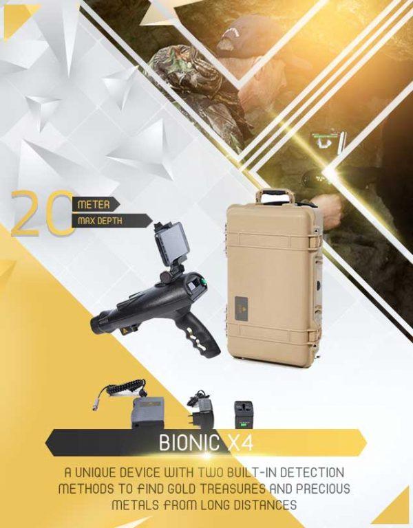 Détecteur BIONIC X4 1