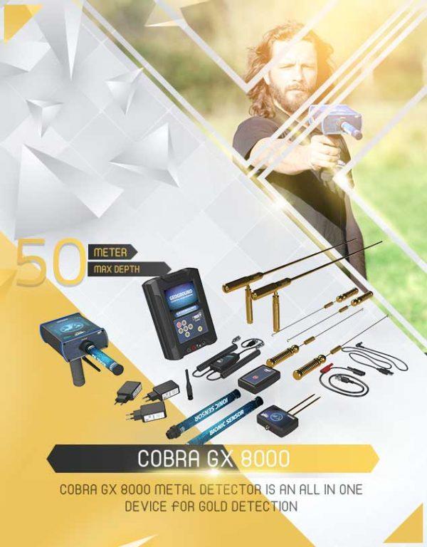 Détecteur Cobra GX 8000 1