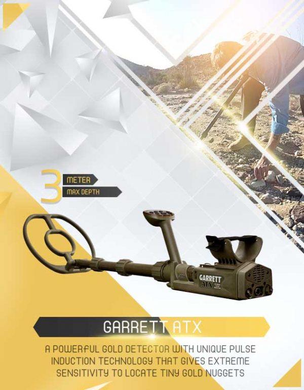 Détecteur GARRETT ATX 1