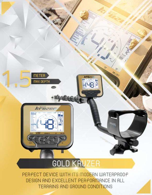 Gold Kruzer Détecteur 1