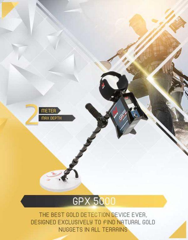 Détecteur GPX 5000 1