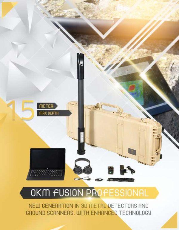 Détecteur OKM FUSION Professional 1