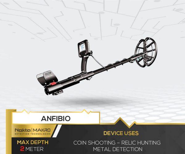 Anfibio Metal Detector