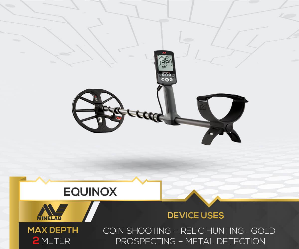Equinox Metal Detector