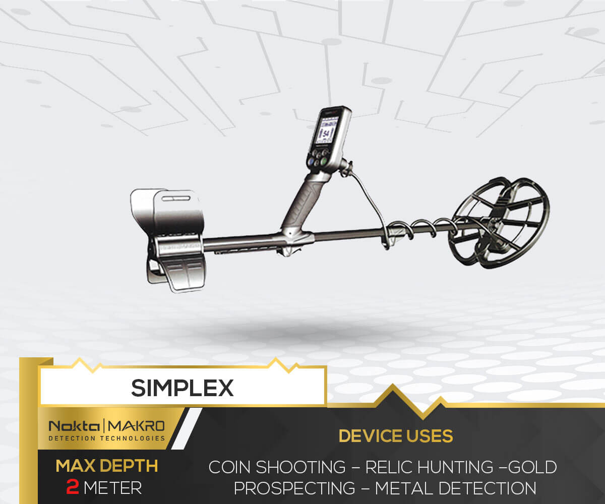 Simplex Metal Detector