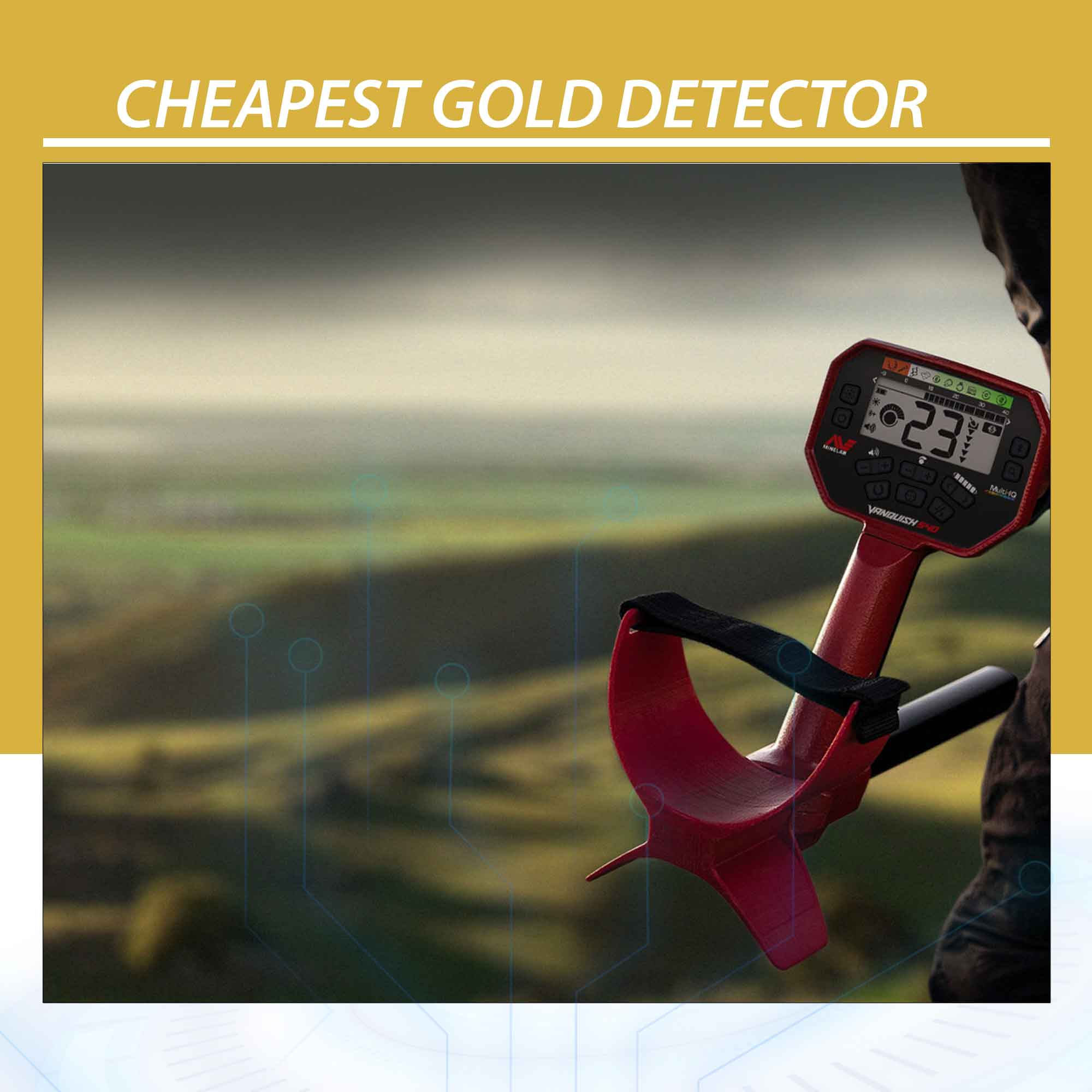 Cheapest Gold Detector