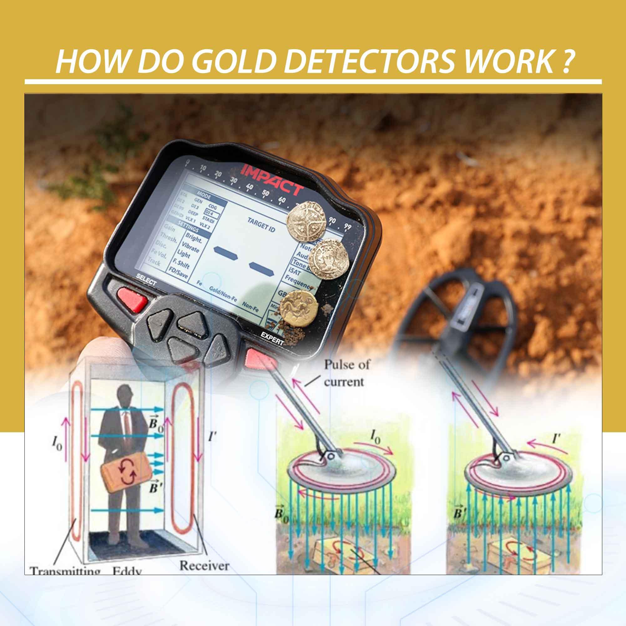 How Do Gold Detectors Work