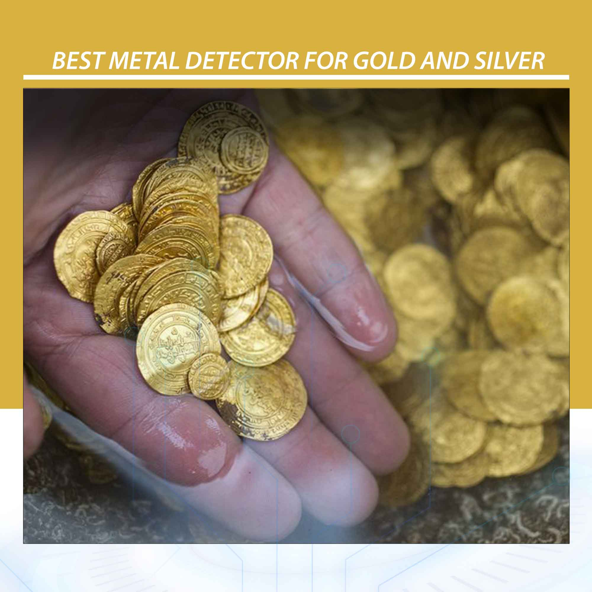 Best Metal Detector for Gold and Silver