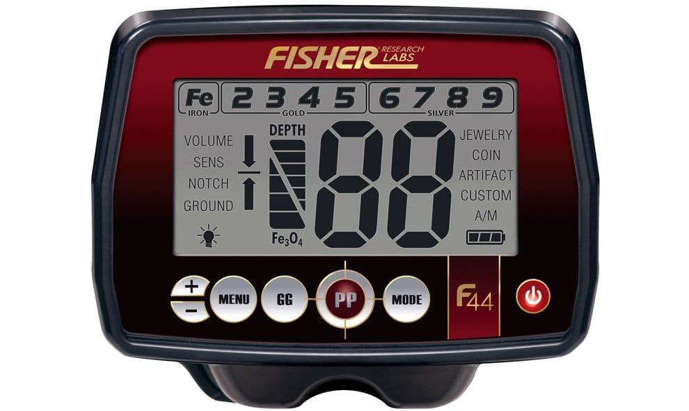 fisher f44 screen