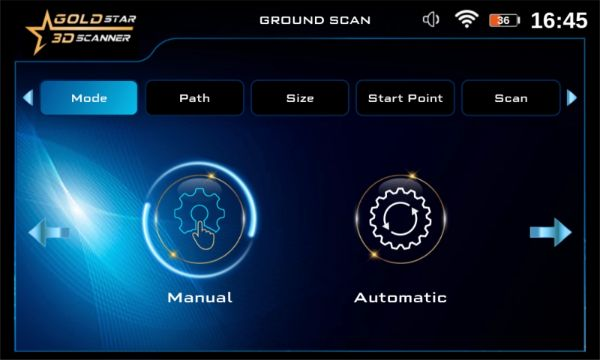 GROUND-SCAN-MODE