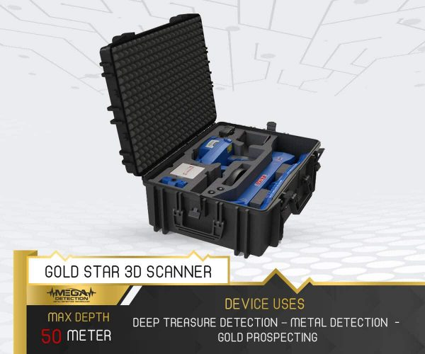 Gold Star 3D Scanner 1