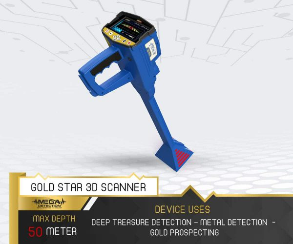 Gold Star 3D Scanner 3