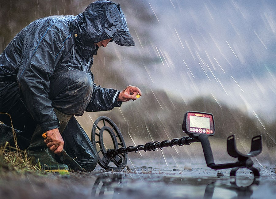 fisher f44 in rainy weather