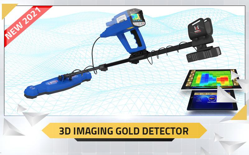 3D Imaging Gold Detector