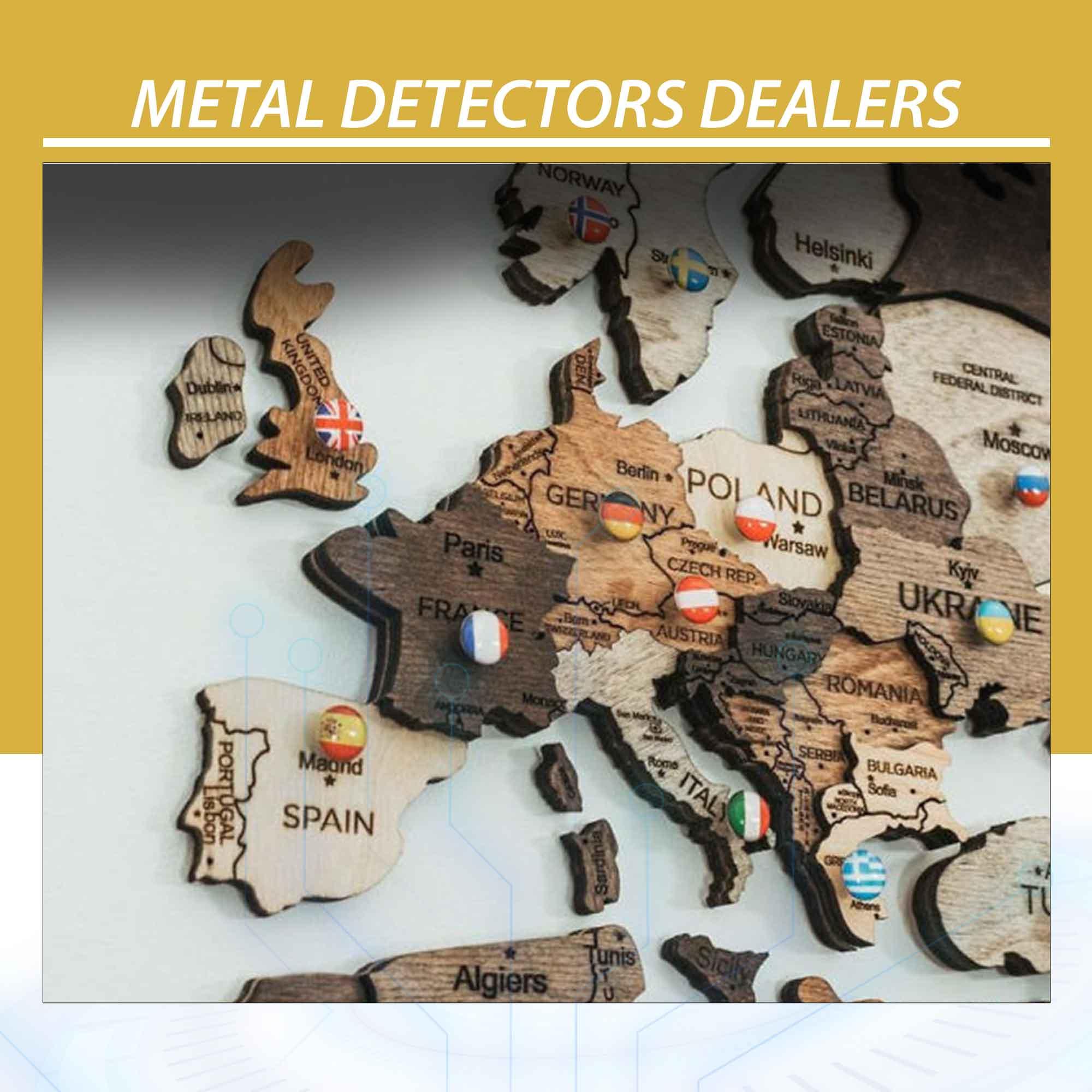 Metal Detectors Dealers