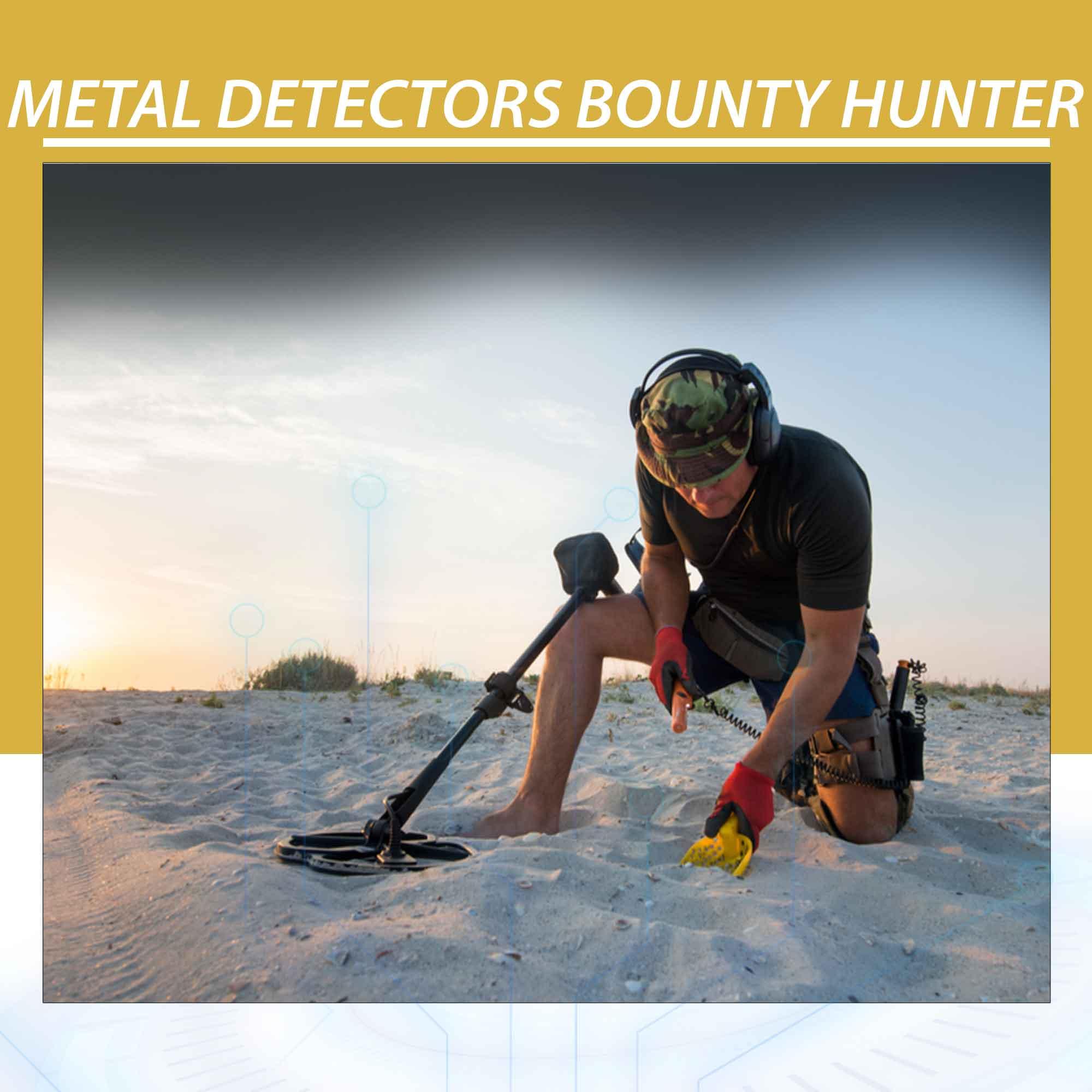 Metal Detectors Bounty Hunter