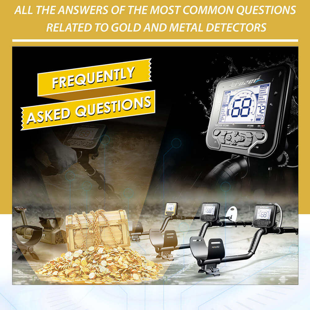 All the answers of the most common questions related to gold and metal detectors