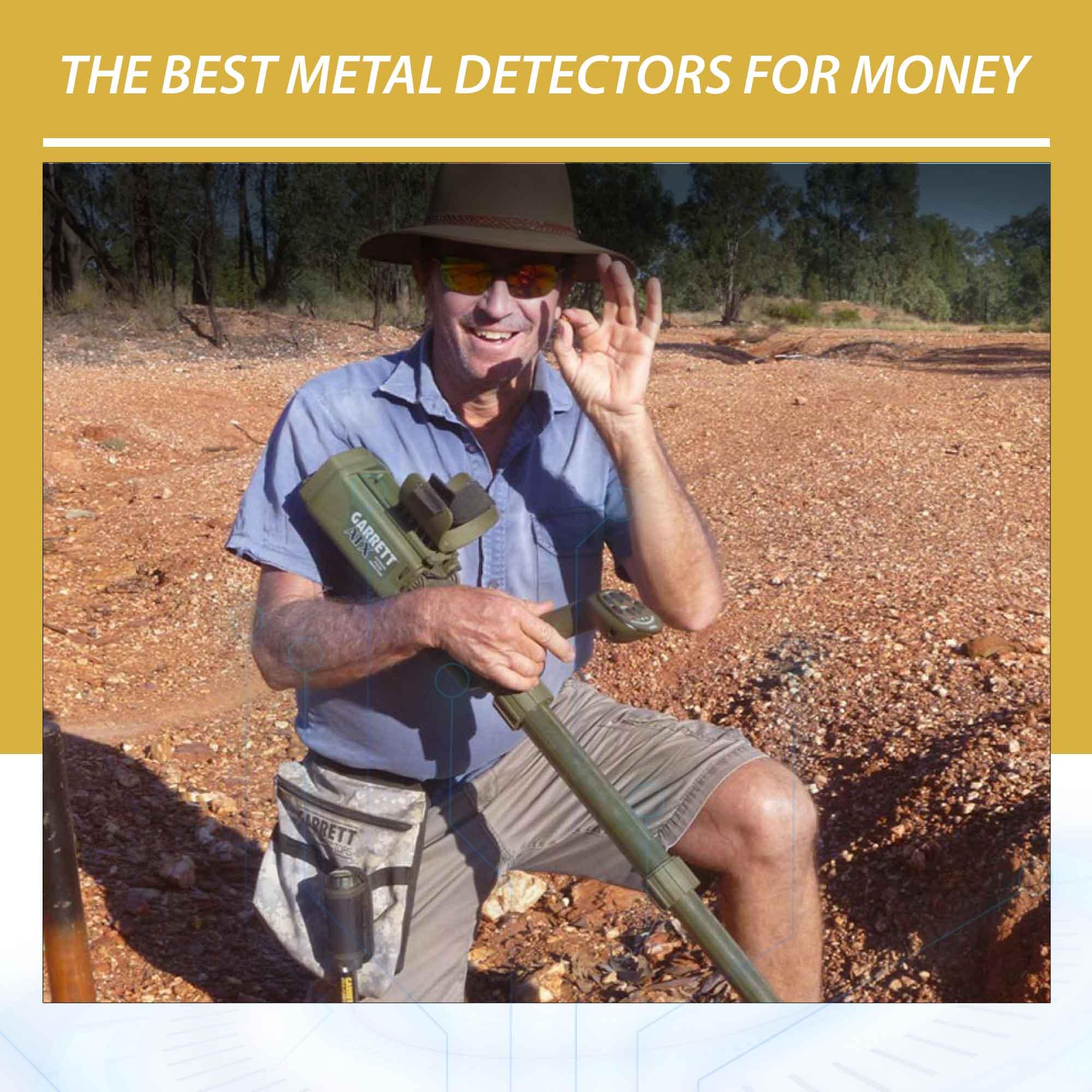 The best metal detectors for money