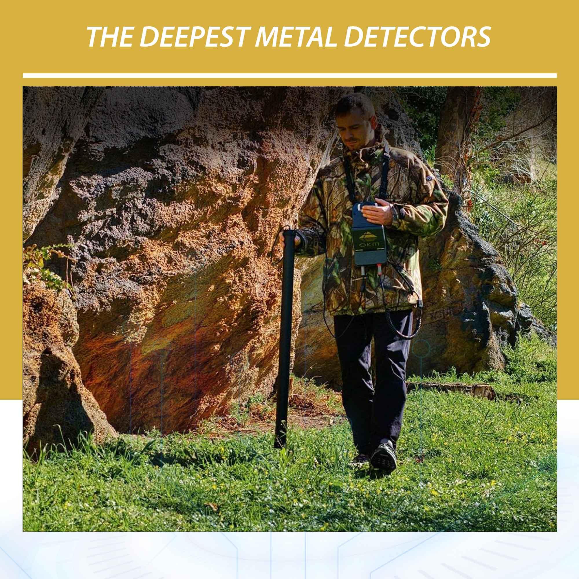 The deepest metal detectors in 2021